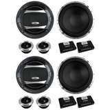 "4) BOSS AUDIO PC65.2C 6.5"" 1000W Car 2 Way Component Speakers Audio Set"