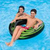 2-Pack Intex River Rat 48-Inch Inflatable Tubes For Lake/Pool/River | 2 x 68209E