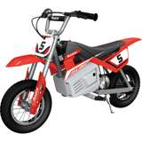 Razor MX350 Dirt Rocket Kids Electric Motorcycle, Red