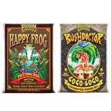 FoxFarm Happy Frog Potting Soil Mix Bag and Bush Doctor Coco Loco Soil Mix Bag