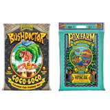 FoxFarm Bush Doctor Coco Loco & 12 Quart Ocean Forest Garden Potting Soil Mix