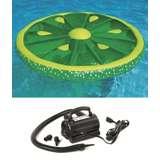 Swimline Pool Fruit Raft w/ 110 Volt Air Pump | 9054 + 9095