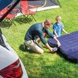 Intex Inflatable Corner Sectional Sofa & 12V Quick-Fill Corded Electric Air Pump