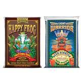 FoxFarm Light Warrior Soil Mix and Happy Frog Soil Mix