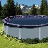 Swimline 15-Foot Round Above Ground Swimming Pool Leaf Net Top Cover