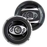 Boss 6.5-Inch 4-Way 400 Watt Speakers (Pair) | P65.4C