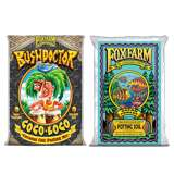 FoxFarm Bush Doctor Coco Loco & Ocean Forest Plant Garden Potting Soil Mix