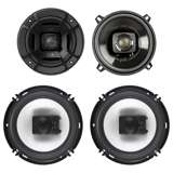 "Polk Audio 5.25"" 300W Car/Marine ATV Speakers, Pair + 6.5"" 300W Speakers, Pair"