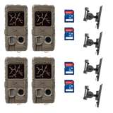 Cuddeback Game Camera (4 pk) + 16GB SD Card (4 pk) + Game Camera Mount (4 pk)