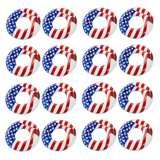 Swimline 36-Inch American Flag Pool Tube (16 Pack)
