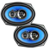"QPower (2) 6x9"" 700 Watt 3-Way Car Audio Stereo Coaxial Speakers Pair"