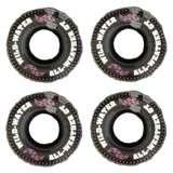 "4 Swimline 902136"" Inflatable Printed Tire Tubes"
