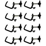 CLP-03 Chauvet DJ Light Mounting C Clamps (8 Pack)