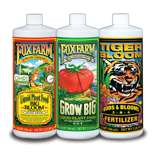 Foxfarm Hydro Nutrient Trio Tiger Bloom Grow 3 Qts