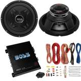 Boss CXX12 12-Inch 2000W Subwoofer with Mono Amplifier with Amp Kit