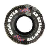 """Swimline 36"""" Inflatable Floating Tire Tube w/ Electric Pump 
