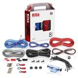 BOSS Audio Systems KIT2 8 Gauge Complete Car Amplifier Installation Wiring Kit