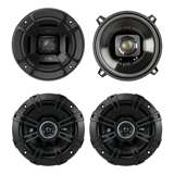Polk 5.25-Inch Speakers, Pair + Kicker 5.25-Inch Speakers, Pair