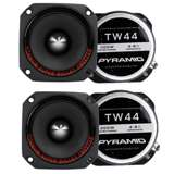 Pyramid TW44 1-Inch 300W Heavy Duty Titanium Dome Bullet Tweeters (4-pack)