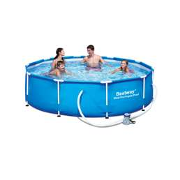 Above Ground Inflatable Pools swimming pools, above ground framed and inflatable pools