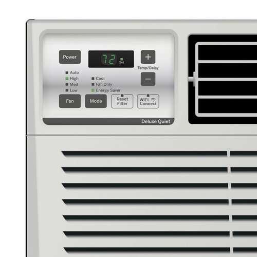 ge energy star 10000 btu 3 speed wifi control window air conditioner open box 84691819738 ebay. Black Bedroom Furniture Sets. Home Design Ideas