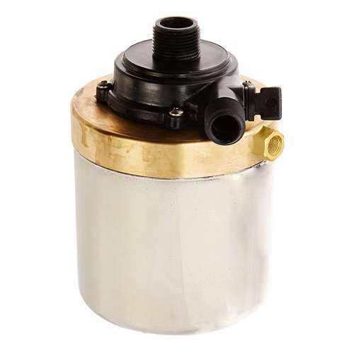 Little giant stainless steel 580 gph submersible or inline for Pond pump box