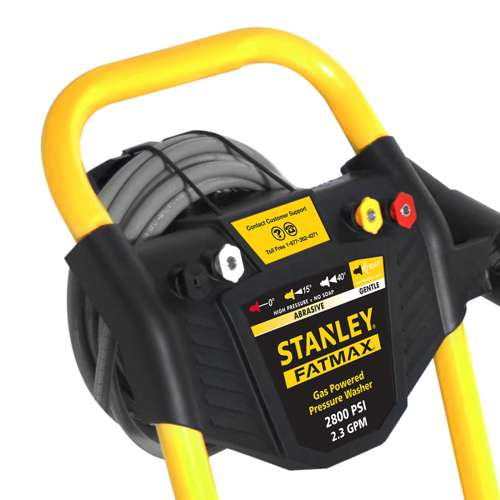Stanley Fatmax 2 3gpm 2800psi Gas Power Portable High