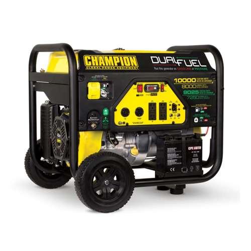 Details about Champion 8000-Watt Portable RV-Ready Dual-Fuel Generator  (Open Box)