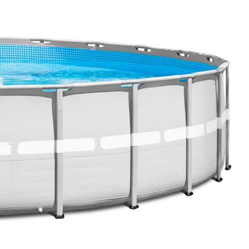 Intex 26 Foot X 52 Inch Ultra Frame Above Ground Swimming Pool Set Open Box