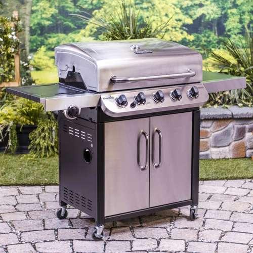 Char-Broil Performance 5 Burner Cooking Backyard BBQ ...