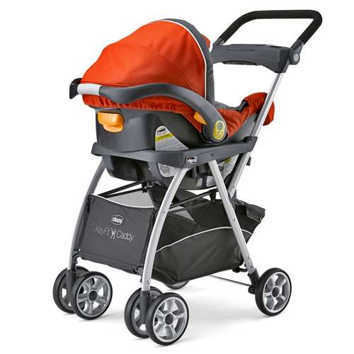 Chicco KeyFit And Fit2 Car Seat Compatible Caddy Baby Stroller Frame