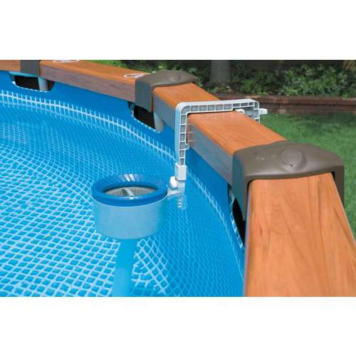 Intex deluxe wall mount swimming pool surface automatic - Skimmer de surface intex ...