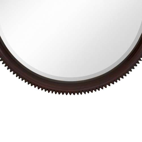 Majestic Mirror and Frame Majestic Mirror Contemporary Round Beveled ...