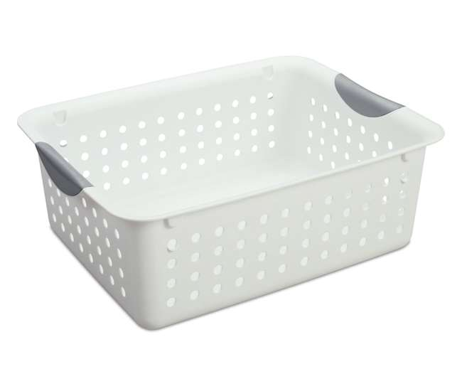 6 x 16248006 Sterilite Medium Ultra Baskets (6 Pack)