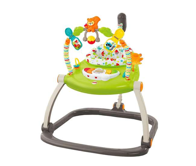 CBV62 Fisher Price Woodland Friends Baby Jumperoo Infant Play Bouncer (Open Box)
