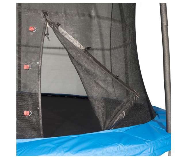 JumpKing 8-Foot Trampoline And Safety Net Enclosure Combo