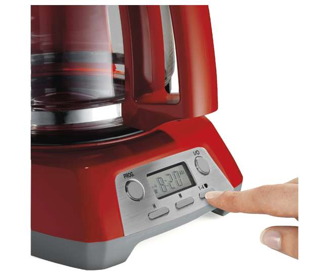 Proctor-Silex 12 Cup Coffee Maker, Red : 43673 : VMInnovations.com