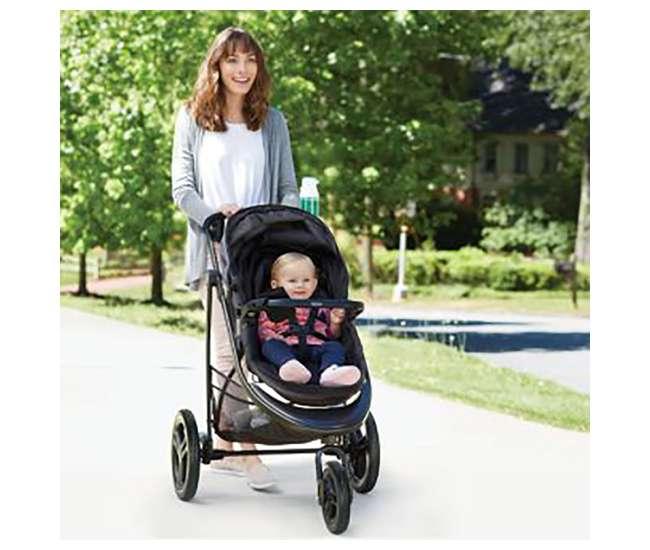 2032493-U-A Graco Modes 3 Essentials LX Infant Travel System, Palmer (Open Box)