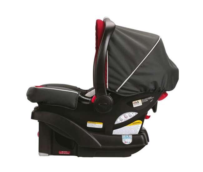 graco soho click connect stroller and sunrige 35 car seat travel system presley 1893414. Black Bedroom Furniture Sets. Home Design Ideas