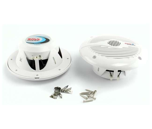 """MR60W Boss Audio 6.5"""" 2-Way 200W Marine Speakers (White)   MR60W"""