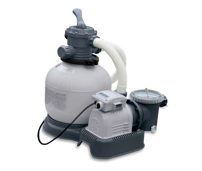 Intex Sand Filter Krystal Klear 1600 Gph Pool Pump 56673eg
