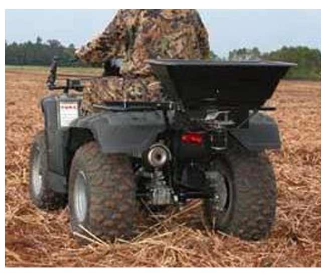 Moultrie Feeders Atv Food Plot Spreader Seeder Mfhp53880