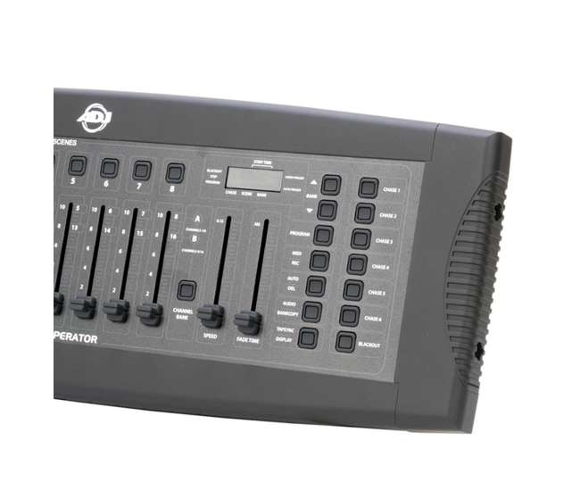DMX-OPERATOR + DMX3P25FT American DJ DMX Operator Controller + Chauvet DJ 25 Foot 3 Pin DMX Cable