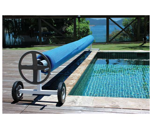 Kokido Kalu Swimming Pool Cover Reel Set Up To 21 1 39 K936wbx 165 Grvd