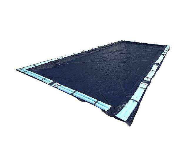 WC764 Artic Armor 30x50 Rectangular Inground Pool Winter Cover -Dark Blue