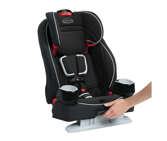 graco atlas 65 2 in 1 harness and highback booster car seat 1946242. Black Bedroom Furniture Sets. Home Design Ideas