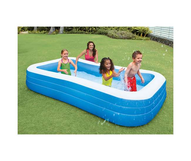 Intex swim center 72 x 120 inflatable pool 58484ep Intex inflatable swimming pool