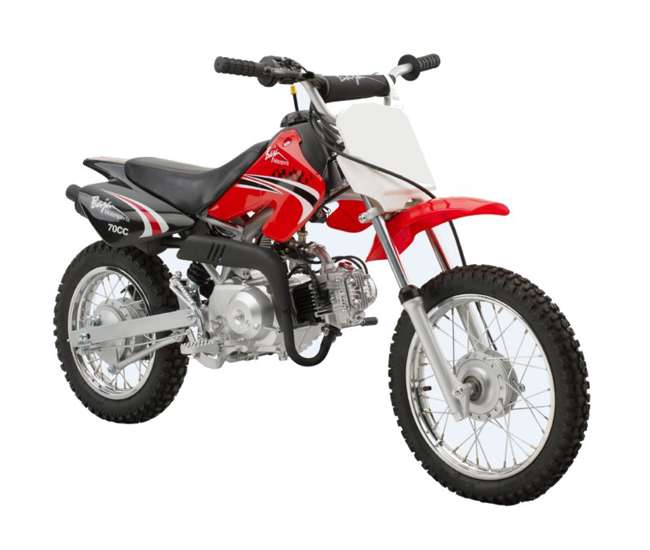 DR70 Baja DR70 72CC Gas Dirt Bike