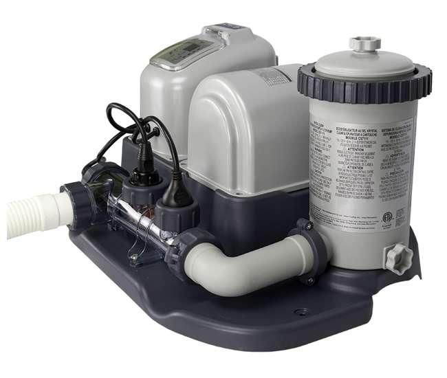 intex krystal clear 1200 gph filter pump saltwater system 28671eg. Black Bedroom Furniture Sets. Home Design Ideas