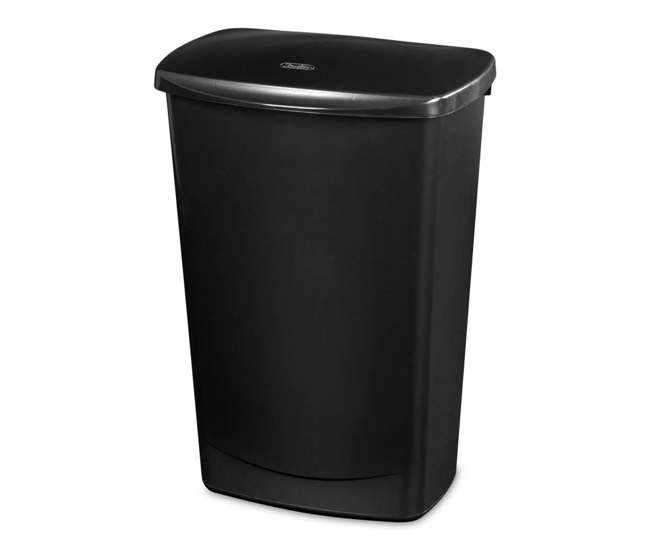 sterilite 11 4 gallon covered wastebasket 6 pack 10919006 6 x 10919006